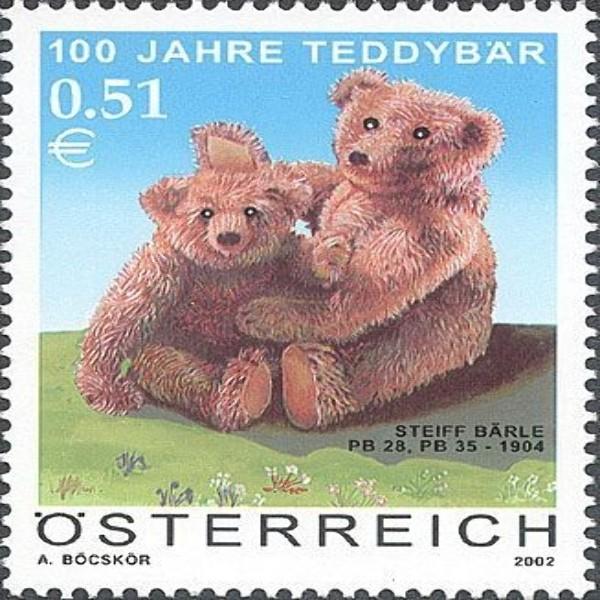 ANK 2419 Teddybär 0,51€** 2002