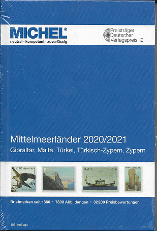 MICHEL Europa Mittelmeerländer 2020/21 (E 9)