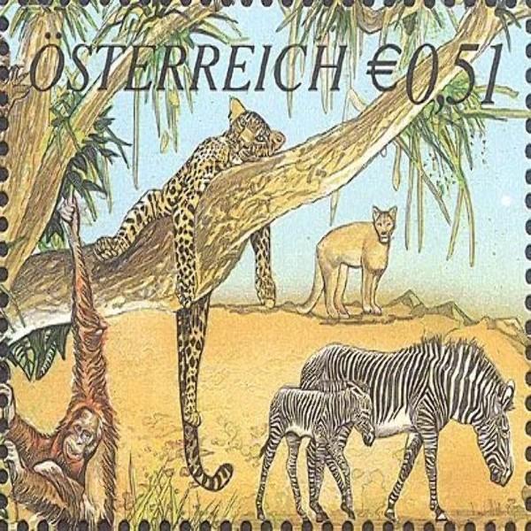 ANK 2415 250 Jahre Tiergarten Schönbrunn 0,51 €** 2002