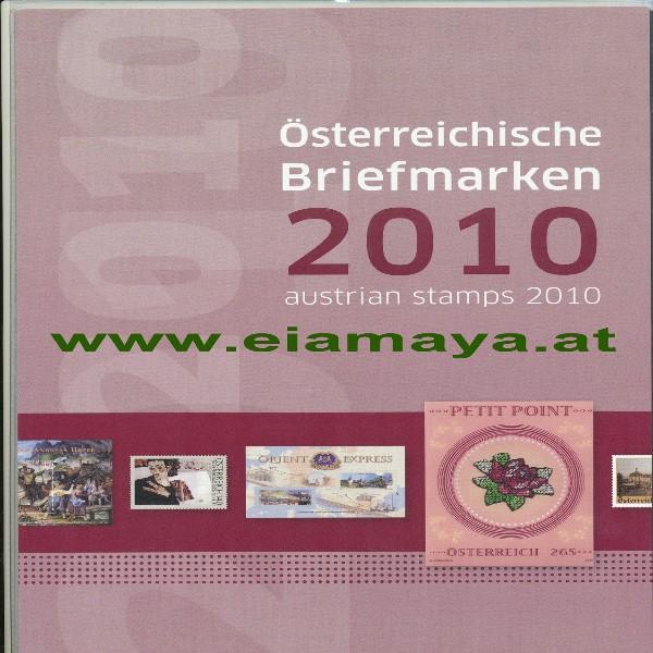 Marken Jahreszusammenstellung der Post 2010