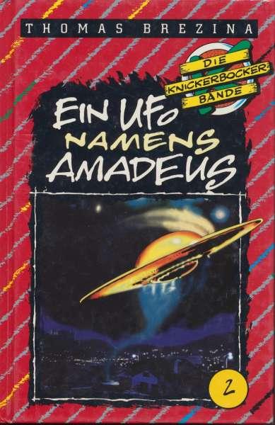 """Die Knickerbocker Bande Nr. 02 """" Ein Ufo Namens Amadeus """" 10 Auflage 1995"""