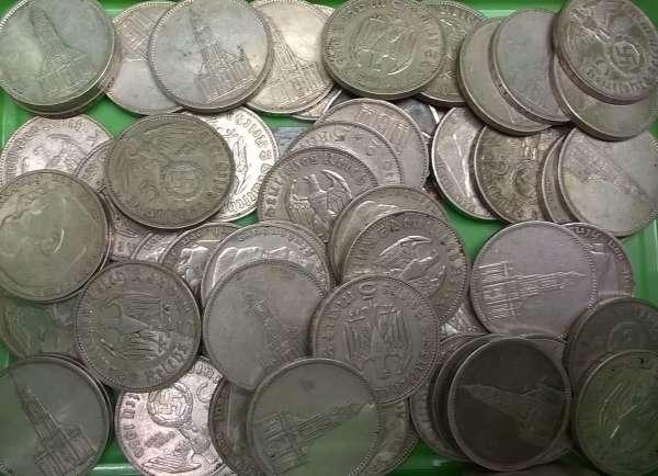 Wir kaufen an 5 Reichsmark