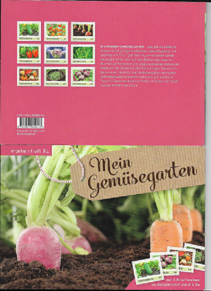 Marken Heft XL Mein Gemüsegarten mit 9 Marken