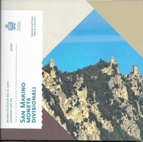 Kursmünzensatz Blister San Marino 2020 KMS Coinset Münzset
