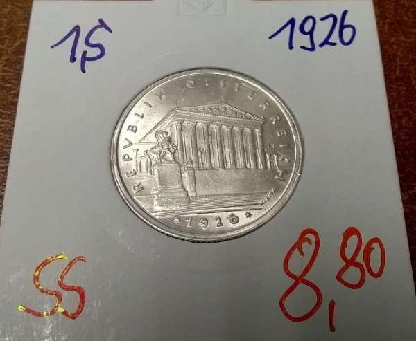 1 Schilling 1926 Silber