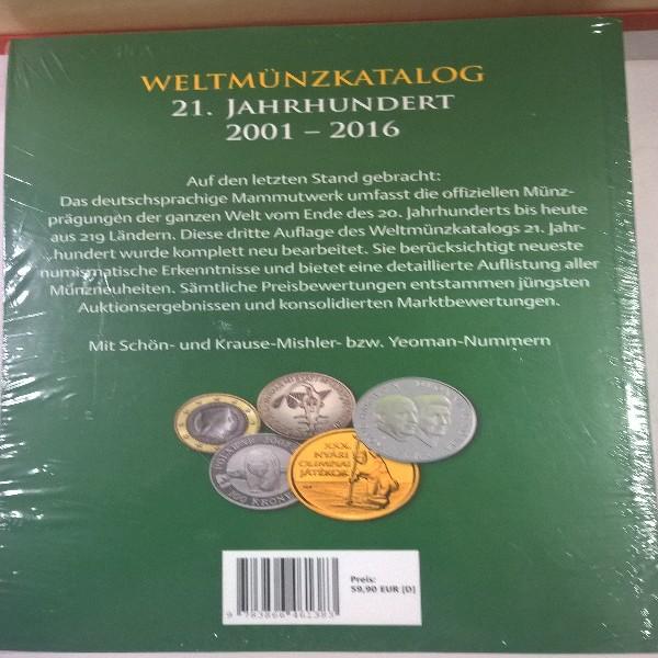Weltmünzkatalog 2001 -2016 Battenberg 3 Auflage 2017