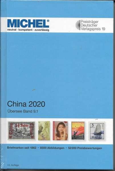 Michel Übersee Katalog Nr.9 Teil 1 China 2020