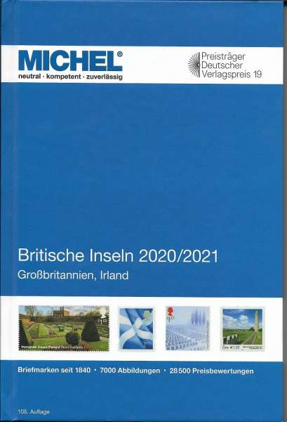 MICHEL BRITISCHE INSELN-KATALOG 2020/2021 (E 13)