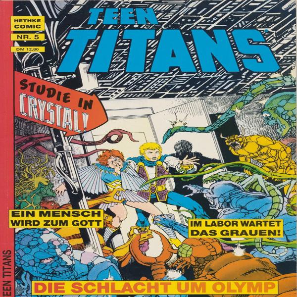 Teen Titans Hethke Comic Nr. 5