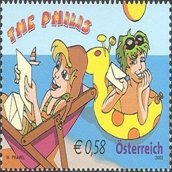 """ANK 2434 Gogo und Edison der Serie """"Philis"""" 0,58 €** 2002"""