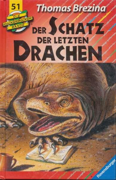 """Die Knickerbocker Bande Nr. 51 """"Der Schatz der letzten Drachen """""""