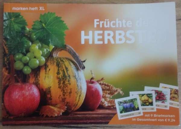 Marken Heft XL Früchte des Lebens mit 9 Marken