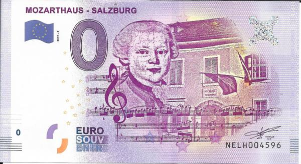 ANK.Nr.05 Mozrthaus Salzburg Unc 0 Euro Schein 2017-2