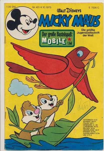 Micky Maus Nr. 40/1975