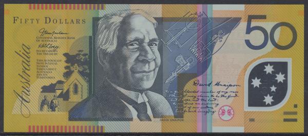 Australien – 50 Dollars (2008) (P.new) Erh. UNC