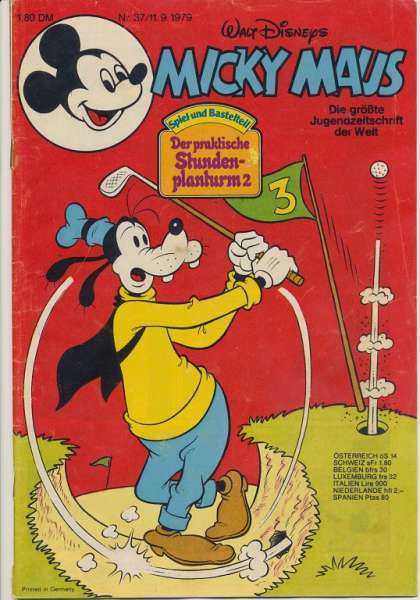 Micky Maus Nr. 37/1979