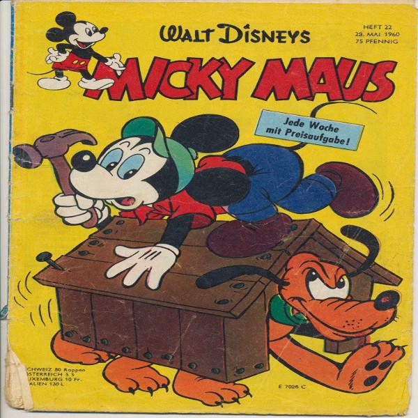 Micky Maus Nr.22/1960