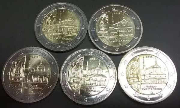 2 Euro Deutschland 2013 Baden Württemberg