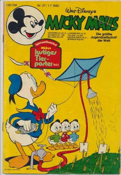 Micky Maus Nr. 27/1980