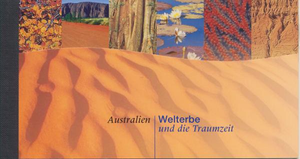 UNO Wien Markenheft Nr. 4 - Welterbe Australien 1999 Postfrisch