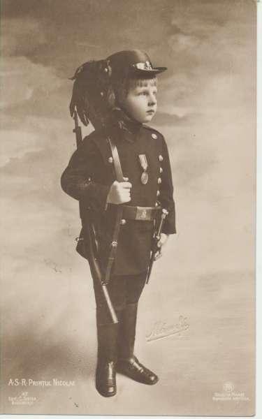 Prinz Nikolaus in Uniform des Jägercorps Portrait of A.S.R. Printul Nicolae