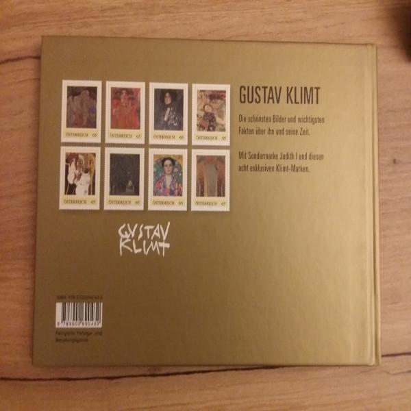 Briefmarkenbuch Gustav Klimt Sein Leben seine Bilder seine Zeit mit 9 exklusiven Marken