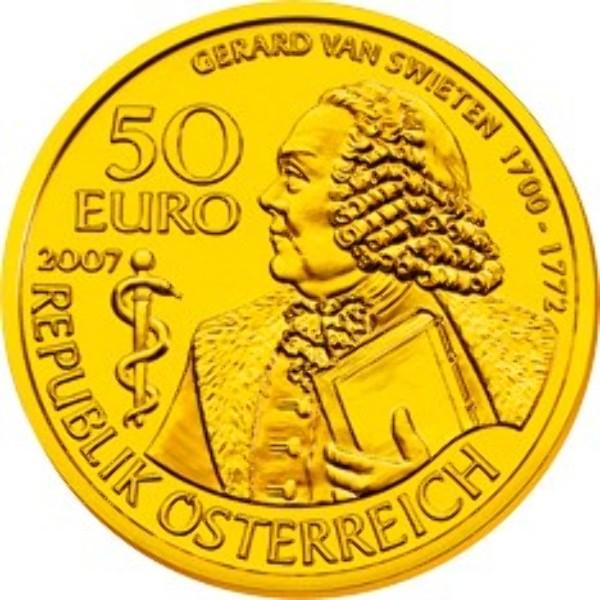 2007 - 50 Euro - Gerard van Swieten (2007)