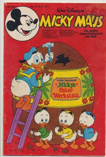 Micky Maus Nr. 15/1977
