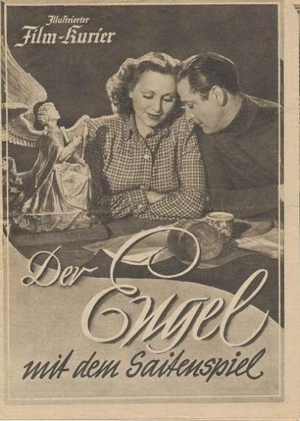 Der Engel mit dem Saitenspiel Nr.3378 Illustrierter Film - Kurier