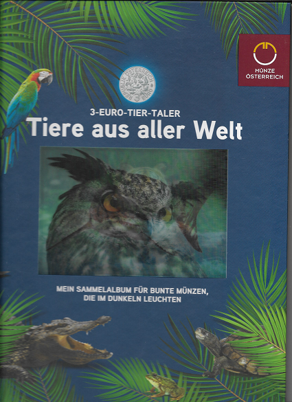 Sammelalbum Tier Taler Sammelalbum gebraucht wie neu