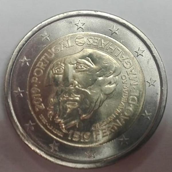 2 Euro Portugal 2019 500 Jahre Magellan Weltumsegelung