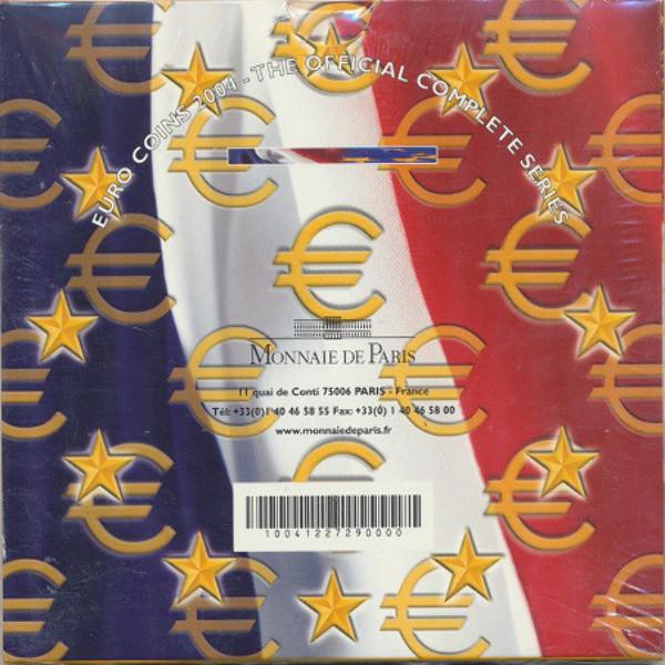 Kursmünzenset KMS Coinset Frankreich 2004 Blister
