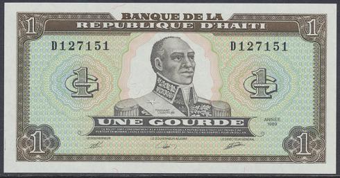 Haiti - 1 Gourde 1989 UNC - Pick 253