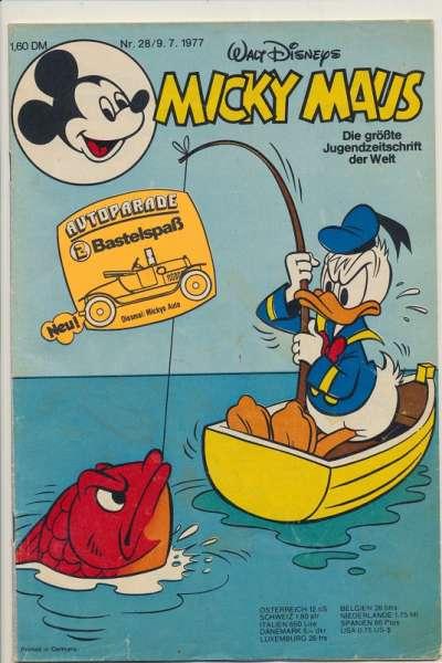 Micky Maus Nr. 28/1977