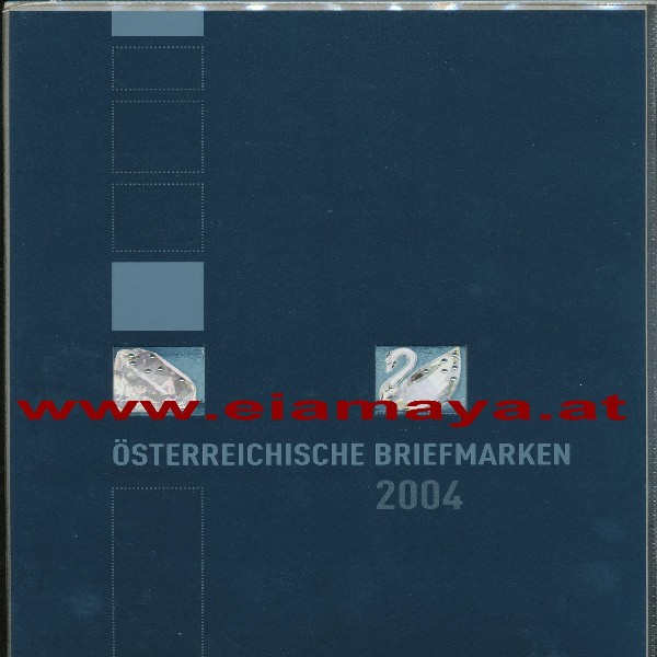 Marken Jahreszusammenstellung der Post 2004
