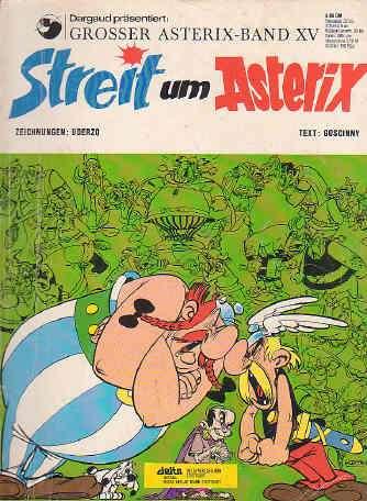 Asterix Band Nr 15 XV Streit um Asterix