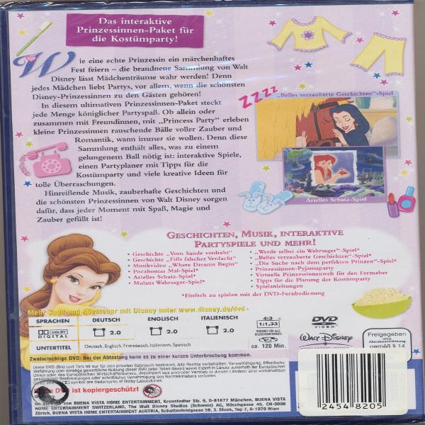 Princess Party Feiern wie eine Prinzessin Vol.2 Walt Disney DVD