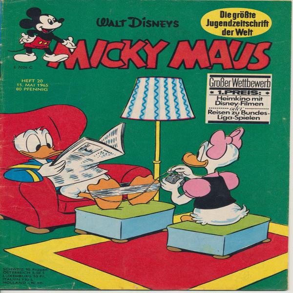 Micky Maus Nr. 20 /1965