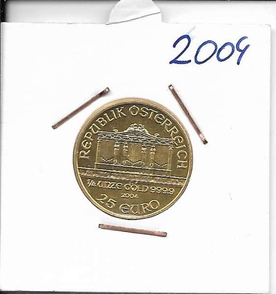 2004 Philharmoniker 1/4 Unze 25 € Euro 7,78 Gramm