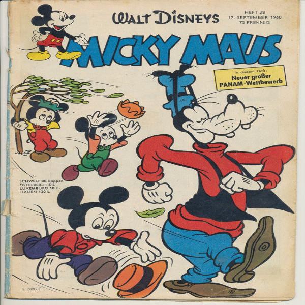 Micky Maus Nr.38/1960