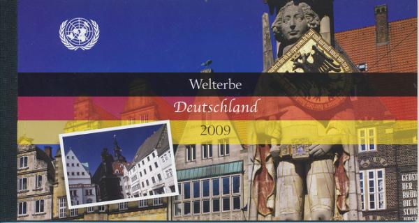 UNO Wien Markenheft Nr. 14 - Welterbe Deutschland 2009 Gestempelt