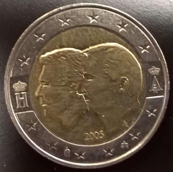 2 Euro Belgien 2005 Ökon.Union