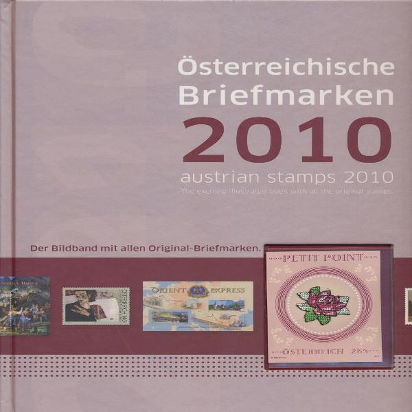 Marken Jahrbuch der Post 2010 Österreich
