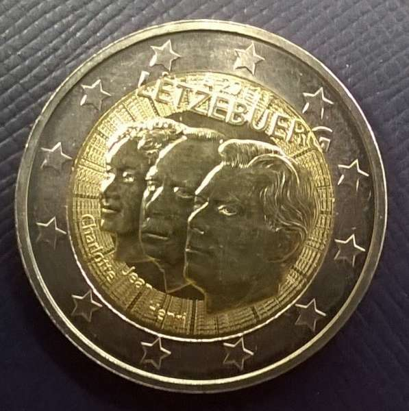 2 Euro Luxemburg 2011 Henri + Jean