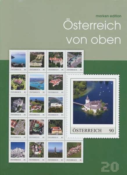 Österreich von oben Marken Edition 20