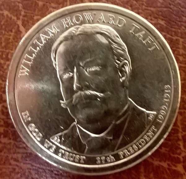 USA 1 Dollar 2013 P William Howard Taft (27)