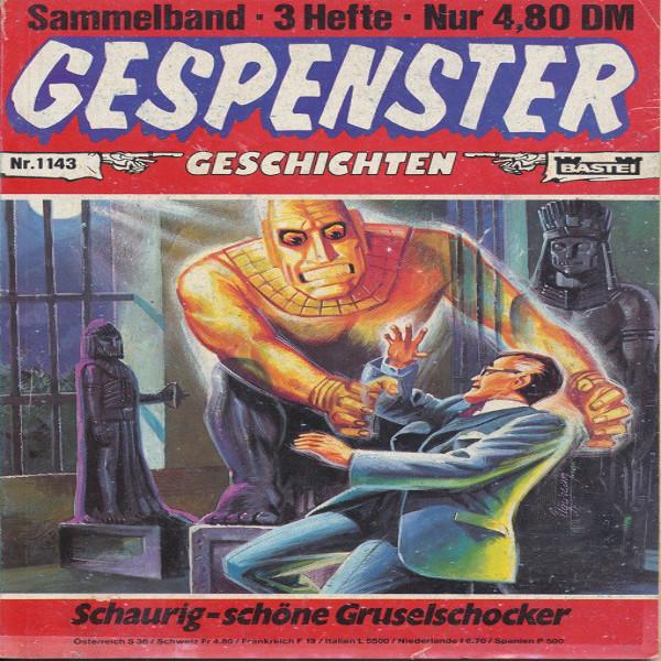 Gespenster Geschichten Nr.1005,1004,999 Sammelband Nr.1143
