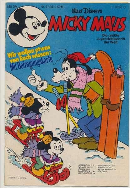 Micky Maus Nr. 4/1975