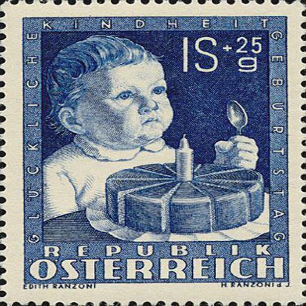 ANK Nr. 943 1S+25 Groschen Postfrisch