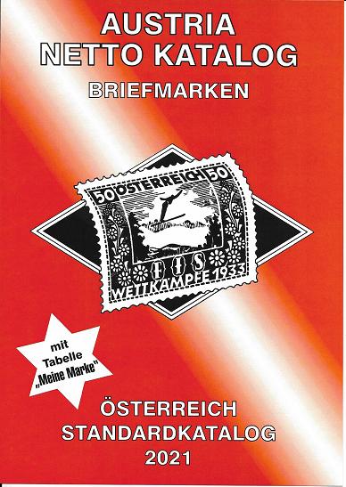 ANK Briefmarken Standart Katalog 2021